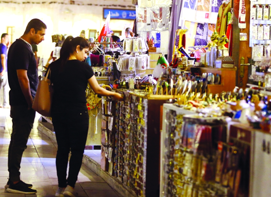 Gulftimes : Souq Waqif shops expect big business this Eid