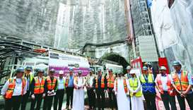 Gulftimes : Excavation starts for Mesaimeer project's